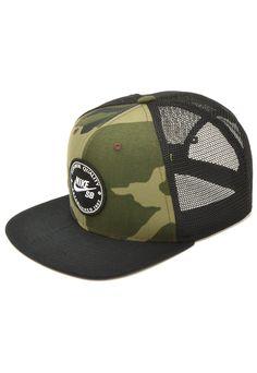buy popular e4864 ee25d Boné Nike SB Pro Cap Patch Verde