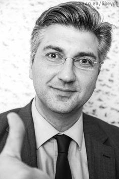 Andrej Plenkovic  InsideOutProject by JR #LikeYou Bruxelles  European Parliament visit www.eu40.eu/likeyou