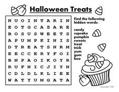 Printable Activities  Poems For Kids  Halloween  Activities
