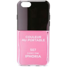 Iphoria Couleur iPhone 6 / 6s Case ($50) ❤ liked on Polyvore featuring accessories, tech accessories, phone cases, phones, iphone, cases and candy pink