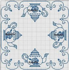 Cross Stitch Kitchen, Mini Cross Stitch, Cross Stitch Borders, Cross Stitch Charts, Counted Cross Stitch Patterns, Cross Stitch Designs, Cross Stitching, Cross Stitch Embroidery, Embroidery Patterns