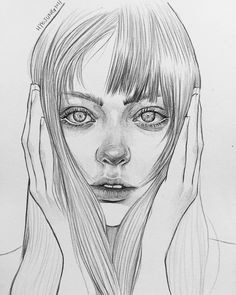 Wonderful Learn To Draw People The Female Body Ideas. Mesmerizing Learn To Draw People The Female Body Ideas. Pencil Art Drawings, Art Drawings Sketches, Realistic Drawings, Cute Drawings, Portrait Sketches, Pencil Portrait, Portrait Art, Portraits, Gcse Art Sketchbook