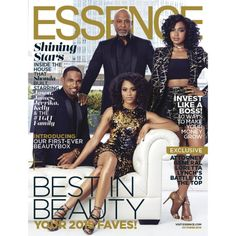 The cast of Grey's Anatomy takes the cover of Essence featuring the Tiara pump by Via Spiga