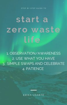 Easy steps you can take to reduce your waste and start reusing. It's a process and a journey but it's not as hard as it seems! Sustainable Gifts, Sustainable Living, Earth Mama, Reduce Reuse, Step Guide, Zero Waste, Overcoming Depression, Journey Quotes