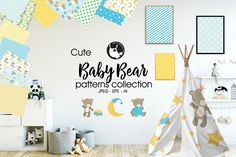 Baby Bear princedigital papers