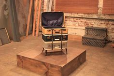 Before and After Images From HGTV's Flea Market Flip : Tv Shows : DIY Network after a Quirky end table!