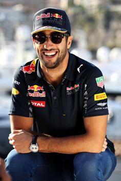 2016 #F1 Pilot Daniel Ricciardo of #RedBullRacing relaxes ahead of the  Monaco Formula 1 Grand Prix