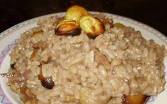 Risotto alle castagne - Una speciale combinazione di gusti per una pietanza autunnale buona e sfiziosa.