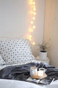 Fantastisch Schlafzimmer Deko Lichterkette