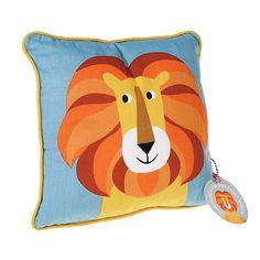 Kissen �Colourful Creatures Lion�. abziehbarer Kissenbezug mit Kissenf�llung.