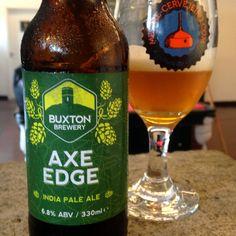 Buxton Axe Edge #cerveja #beer