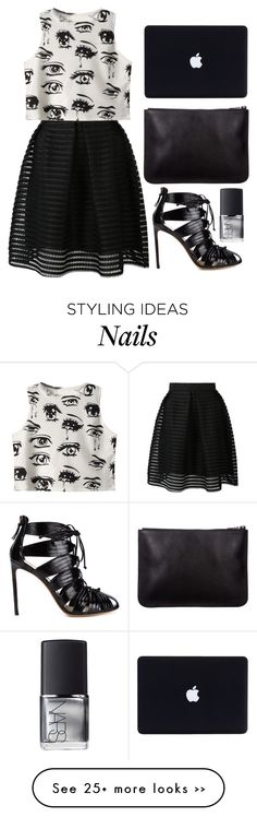 """""""Eye See You"""" by cherieaustin on Polyvore featuring Chicnova Fashion, Francesco Russo and NARS Cosmetics"""