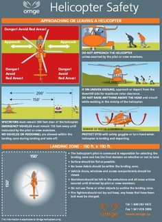 Helicopter Safety Instructions