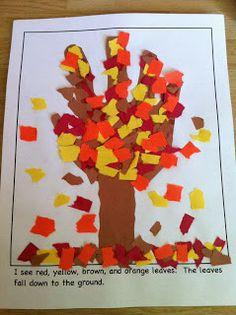 Kindergarten Kids At Play: My Fall Season Activities & Free Fall Book
