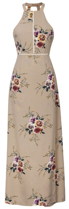 This floral dress should be a staple in every girls' closet!  It is super soft with its soft fabric and the colors are totally fall approved! Find more amazing pieces at Cupshe.com