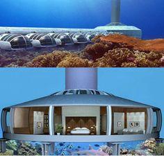 Poseidon Under Sea Resort  I love this - I wanna go there!  http://www.poseidonresorts.com/poseidon_main.html