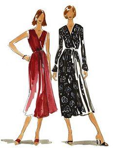 Wrap Dress 526