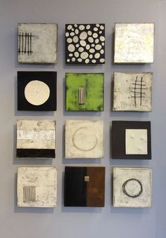"""36""""x48""""x2.5""""as shown each square approx 10""""x10""""x2.5"""" : Currently Available : Lori Katz Ceramic Design 