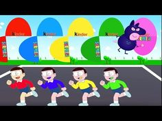 Colors for Children to Learn with Color Nobita, Colours for Kids to Lear...