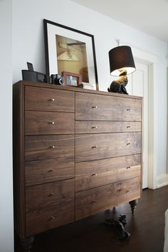 the carroll street woodworkers | custom dresser for mahshad and hasnain (photo by kristin sjaarda for the marion house book)