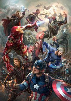 Avengers: Age of Ultron Fanart by chanlien on DeviantArt