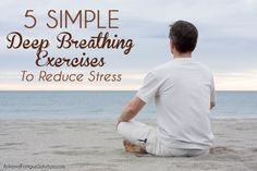 Stress and anxiety can have devastating effects on your health. Fight back with these five easy deep breathing exercises from Adrenal Fatigue Solution! Fadiga Adrenal, Adrenal Fatigue, Exercise To Reduce Stress, How To Relieve Stress, Anxiety Relief, Stress And Anxiety, Best Herbs For Anxiety, Stress Management Strategies, Deep Breathing Exercises