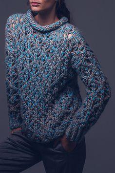 Kostenlose Strick-Anleitung: Pullover - Initiative Handarbeit