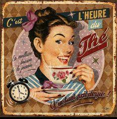C'est L'heure du Thé! It's Tea Time!
