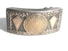 #MidCentury #1950s #Gold #Silver #Artisan #Buckle #Designer #BetterWythAge
