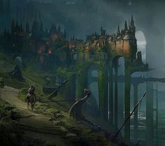 Viking castle  Beautiful painting by concept artist @dechambo❤ ____ #paintingswow #dailysketch #conceptdesign #creativeart #pwartfamily #sketchdaily #draweveryday #artstation #cgsociety #deviantart #epicfantasy #fantasypainting #dailyart #photoshopart #wacomtablet #coolart #artist_sharing #artspotlight #epicart #ilovefantasyart #helloeclosion