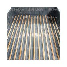 T2 Holzleisten Pritsche Einzelkabine Ladefläche Set Verglnr. 261863751 B  261863753 C In T2 1968