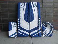 Order a custom set of pads at http://goalie.totalhockey.com/default.aspx