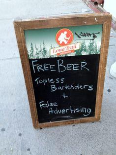 Free false advertising