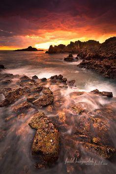 ~~Burned Sky, Semeti Lombok Indonesia by Fadil Basymeleh~~