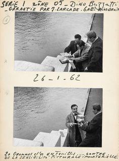 Yves Klein - Zone de Sensibilité Picturale Immatérielle (Zone of immaterial pictorial sensibility) (1959-1962)
