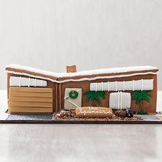 Midcentury Modern Gingerbread House