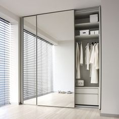 COLLECT - Designer Cabinets from interlübke ✓ all information ✓ high-resolution images ✓ CADs ✓ catalogues ✓ contact information ✓ find your. Fitted Wardrobe Doors, Mirrored Wardrobe Doors, Mirror Closet Doors, Wardrobe Design Bedroom, Sliding Wardrobe Doors, Bedroom Wardrobe, Wardrobe Closet, Sliding Doors, Bedroom Decor