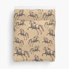 Spanish Horse - Horse Lover's Duvet Cover #Horses #SpanishHorse #Andalusian