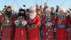 Mongolians celebrate traditions at nadaams or traditional games