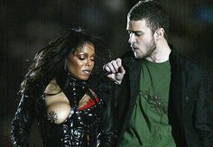 GQ.com: Surprise Nakedness, Part 2: The Super Bowl Halftime Show2004During the Super Bowl halftime show, Janet Jackson reveals that a giant ninja star is tragically stuck in her right nip!.