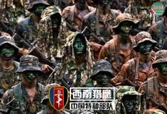 Southwest China Falcon, one of the 'Top 12 special forces of the Chinese military' by China.org.cn