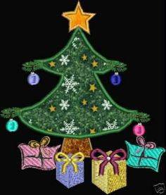 Machine Embroidery Designs Applique Christmas Holiday Tree Santa Snowman Presents Christmas Stocking Dove Pes Format Digital Download by MaineMomBoutique for $7.95