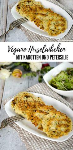 Vegane Hirselaibchen - My list of the most healthy recipes Clean Recipes, Veggie Recipes, Vegetarian Recipes, Dinner Recipes, Empanadas, Delicious Vegan Recipes, Healthy Recipes, Tasty, Mozarella