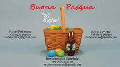 La cartolina di auguri di Pasqua 2013 da parte degli hotel del gruppo incomingarezzo