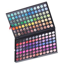 168 Colors Matte and Shimmer Makeup Eye Shadow Plate – NOK kr. 113