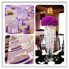 #purple #wedding #reception
