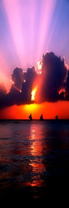 Boracay Sunset ~ Philippines by Brandon Hoover