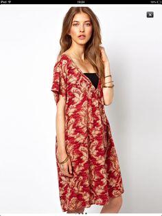 Asos tapestry dress.