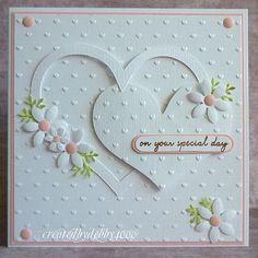 Wow, LOVE this card! Wedding