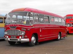 Lovely old Ford Thames with Duple Vega Bodywork is seen at the 2013 Showbus rally at Long Marston airfield. Blue Bus, Red Bus, Malta Bus, Bedford Buses, Bus City, Ford Vehicles, Routemaster, Pretty Cars, Bus Coach